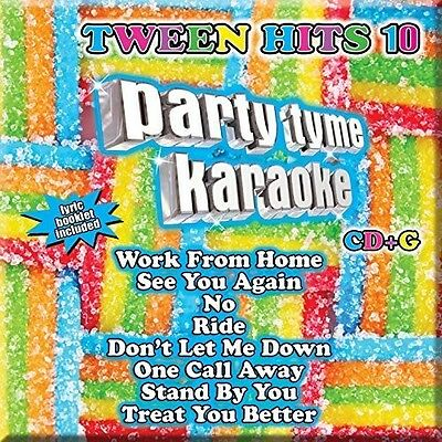 Various Artists - Party Tyme Karaoke: Tween Hits 10 / Various [New CD]