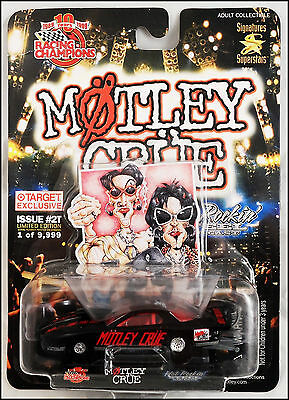 """Motley Crue """"Too Fast For Love"""" Pontiac Pro Stock Car Dragster Racing Champions"""