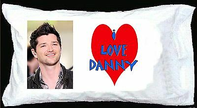 I LOVE DANNY O'DONOGHUE PILLOWCASE The Script