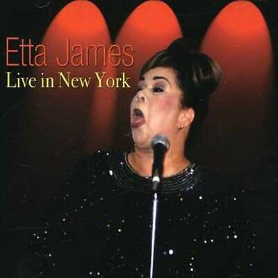 Etta James - Live in New York [New CD]