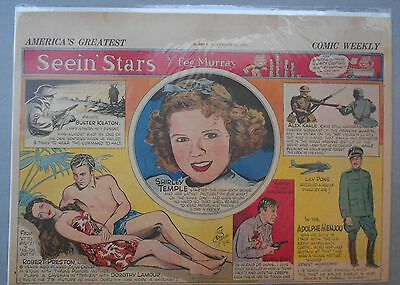 Seein' Stars: Dorothy Lamour, Shirley Temple, Adolphe Menjou from 11/12/1939