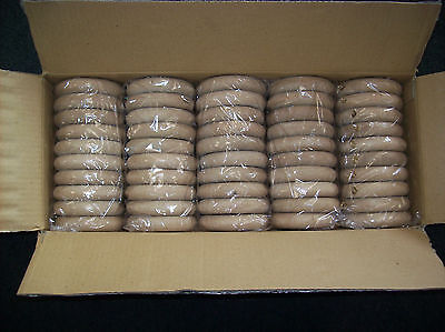 Solid Wood Curtain Rings Set of 50 Drapery Hardware 2 1/4 X 3 3/4 Unfinished