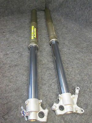 Suzuki RM125 RM250 Used Showa front fork legs upper + lower tubes RM3051