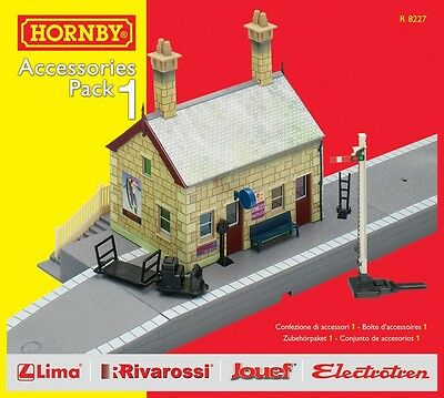 Hornby Model Railway Train Set Trakmat Scenery Accessories Pack 1 OO Gauge NEW