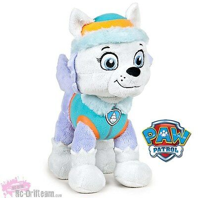 Peluche EVEREST, Patrulla Canina, 27cm, Nickelodeon Oficial, Paw Patrol Soft Plu