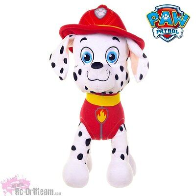 MARSHALL, Peluche Patrulla Canina, 30cm, Nickelodeon Oficial, Paw Patrol Soft Pl