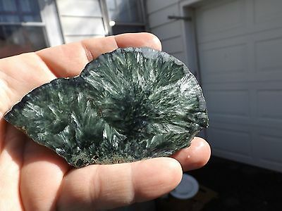 ~~SERAPHINITE~~ANGEL WING~~SLAB~~77.5grams