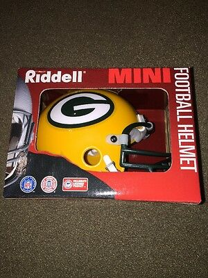 Riddell Team NFL Mini Football Helmet Green Bay Packers (KC)