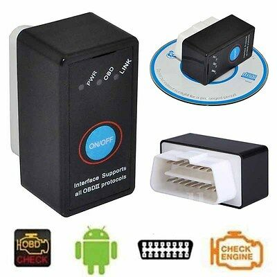ELM327 V1.5 Bluetooth OBDII OBD2 Diagnostic Scanner Tool with Power Switch