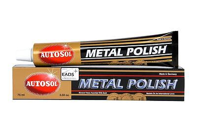 Autosol classic metal cleaner polish car motorbike boat home industrial ART1000