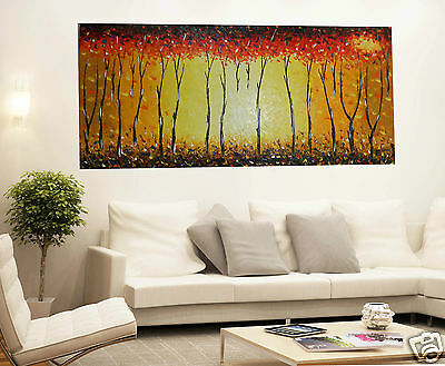 175cm Abstract Tree Fire oil Painting Aboriginal Art Canvas Large jane crawford