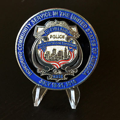 2016 Cleveland Police Republican National Convention Donald Trump Challenge Coin