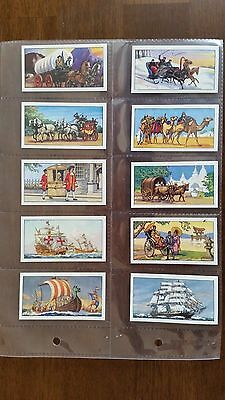 Typhoo Tea Cards - TRANSPORT THROUGH THE AGES - Set of 24 in sleeves