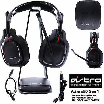 ASTRO Gaming A50 Gen 1 for PS4 PS3 XBOX 360 PC Mac Xbox ONE Gaming Headset