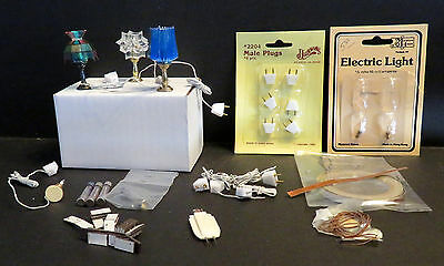 Lge Lot Dollhouse Mini Lighting Lamps Wiring Foil Copper Roll Magnets Fuses