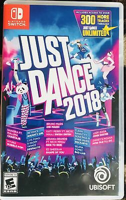 Just Dance 2018 - Switch ** NEW / SEALED ** + FREE Ship !!