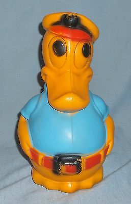 Vintage 1974 Empire Molded Plastic Disney Donald Duck Large Coin Bank