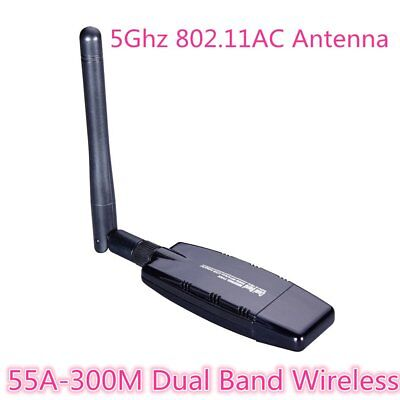 55A-300M Wireless USB Wifi Network Adapter LAN Card 5Ghz 802.11AC AnF4