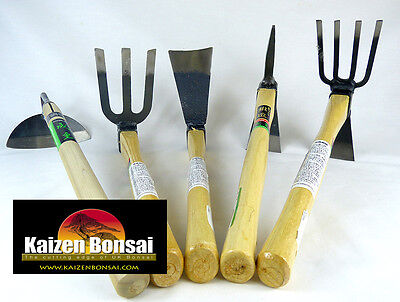 Japanese Garden Tools 5 Patterns Available