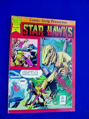 Star Hawks 2, Comic Strip Preserves Paperback. 1st VFN.
