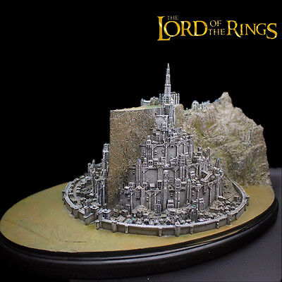 Lord of the Rings Return of the King Minas Tirith MinasTirith Sculpture Recast