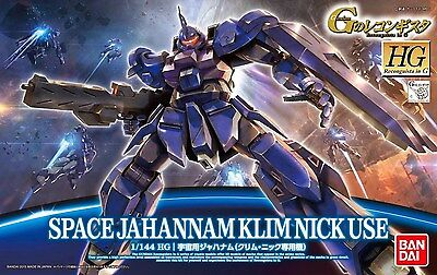 HG Recognista in G Space Jahannam Klim Nick Use 1/144 Scale by Bandai