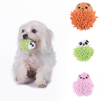 Dog Play Toy Pet Puppy Chew Squeaker Squeaky Plush Sound Hedgehog Teeth Clean