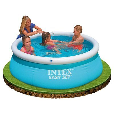 Round Inflatable Swimming Pool Paddling Kids Family Pools Above Ground 886L