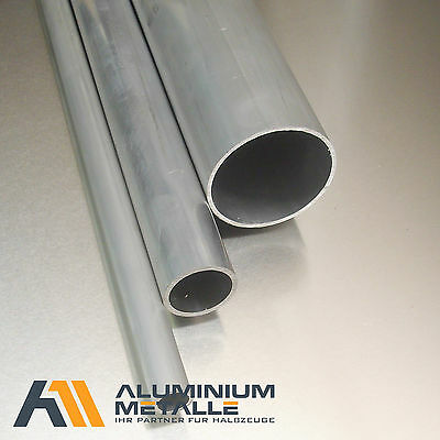 Aluminium pipe ø 26x3mm AlMgSi0,5 Length Selectable Aluminum Round tube Profile