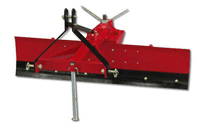 Grader Blade 5Ft 150Cm Tractor 3 Point Linkage Adjustable Angle Heavy Duty