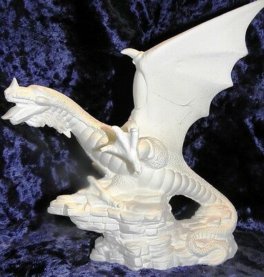 Ceramic Bisque Ready To Paint Small flying dragon