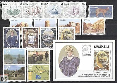 Yearset 1986 MNH / Neuf / Postfrisch South West Africa / Namibia