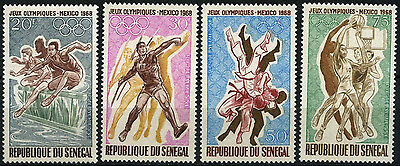 Senegal 1968 SG#383-6 Olympic Games MNH Set #D35381
