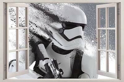 Star Wars Stormtrooper 3D Window Decal Wall Sticker Home Decor Art Mural H772