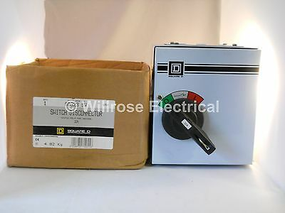 Square D Twinbreak 32 Amp Triple Pole Switch Disconnector 32A 415V SD323SW NEW