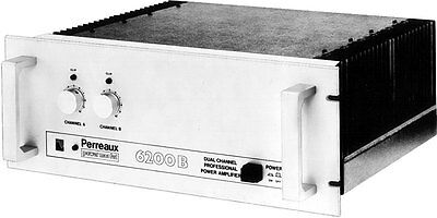 Perreaux 6200b very rare 2 ohm version of the 6000b amp.