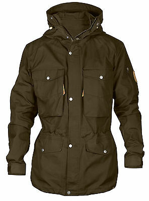 Fjallraven Singi Trekking Jacket - Colour: Dark Olive Various Sizes Available