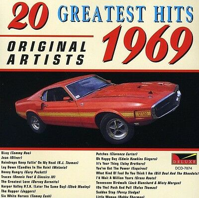 Various Artists - 20 Greatest Hits 1969 / Various [New CD]