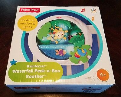 Fisher-price Rainforest Waterfall Peek-a-boo Soother w/ Soothing motion & lights