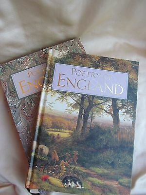 Past Times Poetry Of England Boxed Hardback Book Beautiful Condition