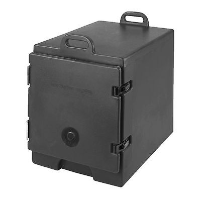 Cambro 300MPC110 Black Front Load Full Size Food Pan Camcarriers