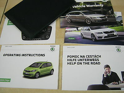 Skoda Citigo  Owners Manual Wallet 2013-2016 Inc Funky Radio Book