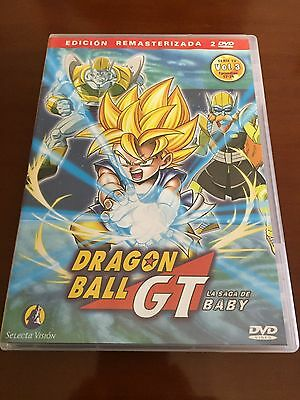Dragon Ball Gt Vol 3 - 2 Dvd - Caps 17 A 24 - 200 Min - Remasterizada Con Extras