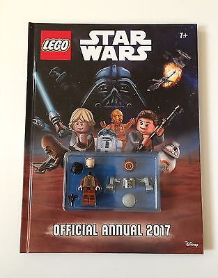 The Official Lego® Star Wars Annual 2017 Hardcover Book BRAND NEW