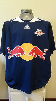New York Red Bulls Away Football Shirt Jersey 2007 XL