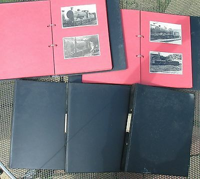 Collection of 321 original photos of Southern Railway Locomotives in five albums