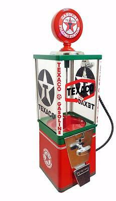 TEXACO GAS oil Oak vintage gumball machine candy machine