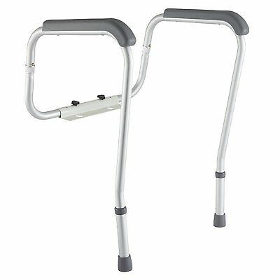 Grab Bars Adjustable Toilet Safety Rail Seat Handicap Assist Elderly  Bathroom. Handicap Grab Bars Adjustable Toilet Safety Rail Seat Assist