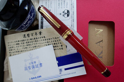 SAILOR Professional Gear *Kanreki* 60th Anniversary Fountain Pen - New