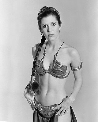Carrie Fisher Princess Leia Star Wars movie actress R.I.P photo 8X10 picture 101